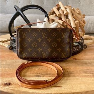 Louis Vuitton Monogram Pochette and Accessories